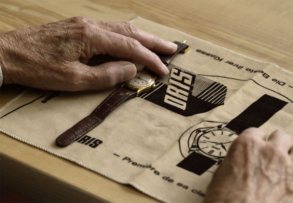 La Big Crown Pointer Date par Rolf Studer, le patron de la marque Oris