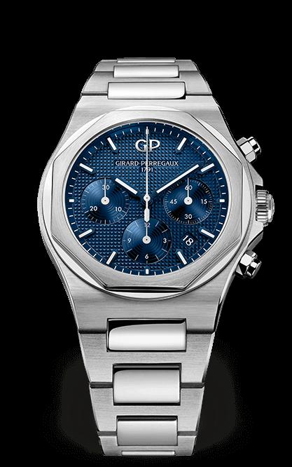 Chronographe acier Laureato Girard-Perregaux