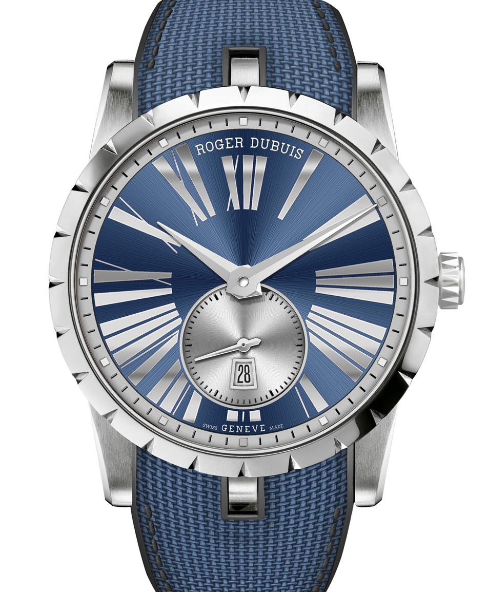 Roger Dubuis Excalibur 42 Automatique acier Bucherer Blue Editions