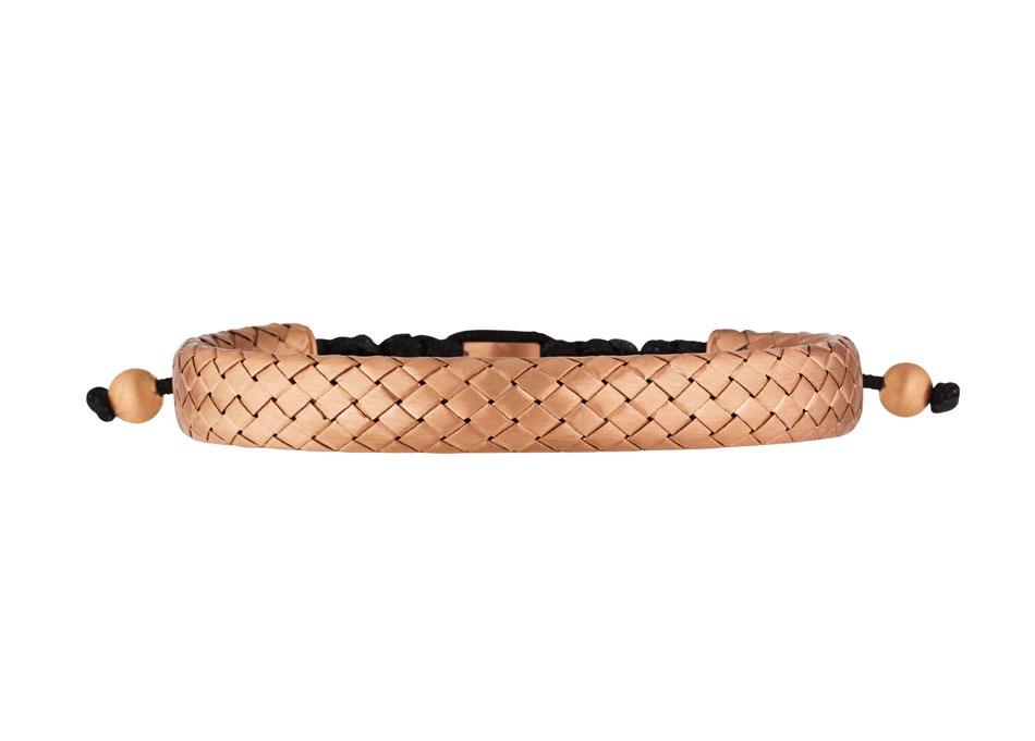 Lassaussois Joaillier bracelet en argent tressé pour hommes