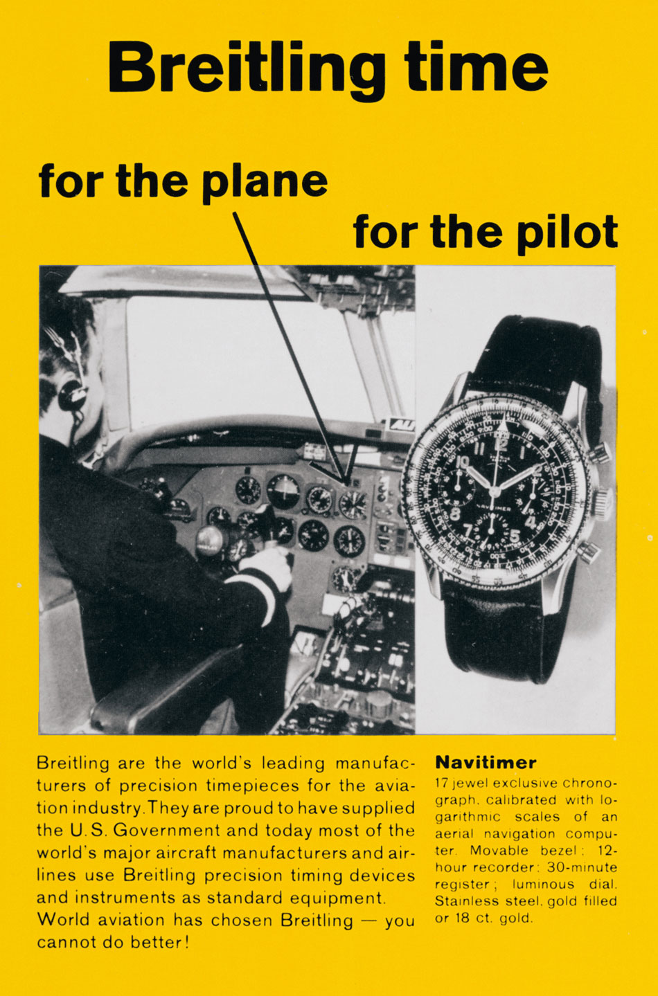 Breitling Navitimer 1 Airline Editions : on commence avec SwissAir