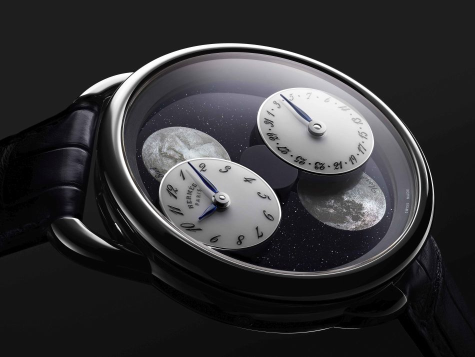 Hermès Arceau, L'heure de la Lune