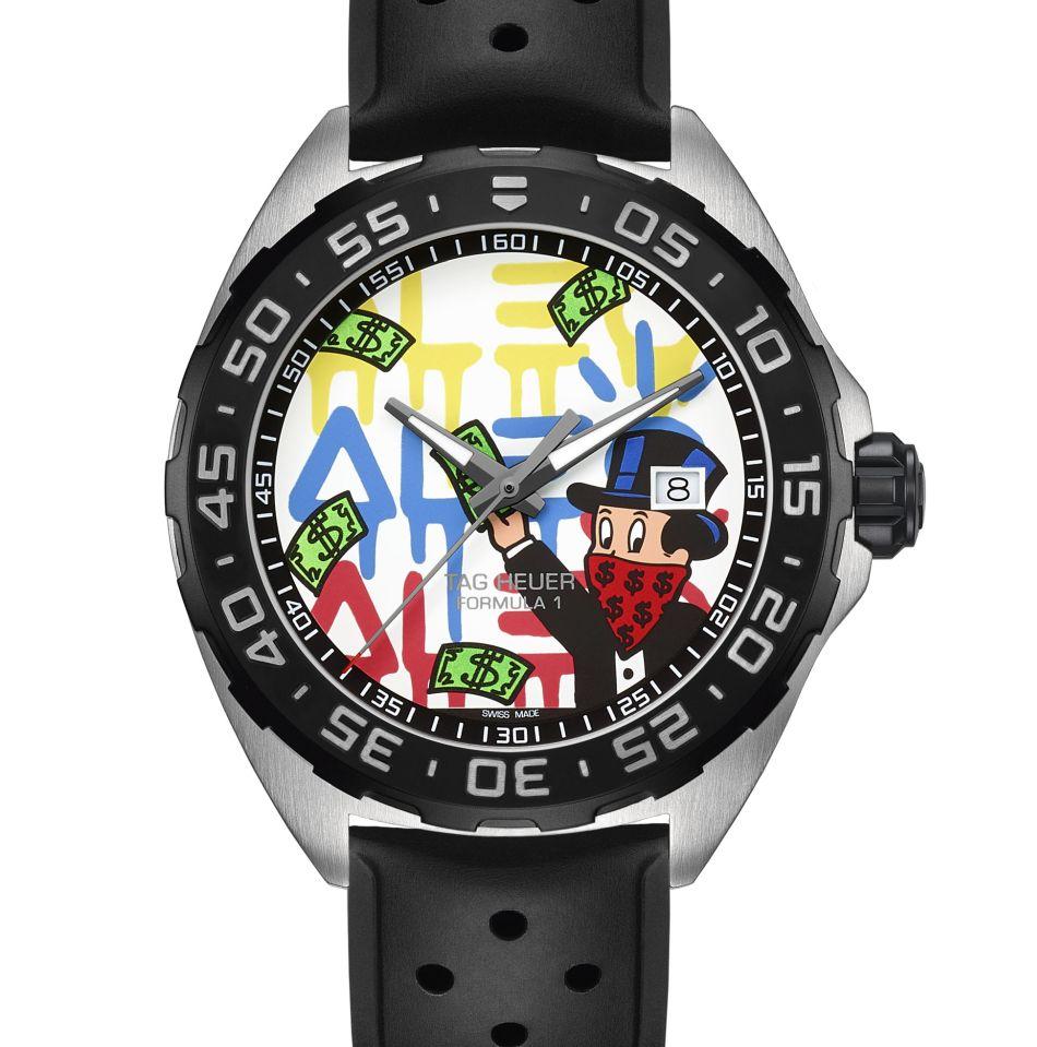 TAG Heuer : deux nouvelles montres avec Alec Monopoly