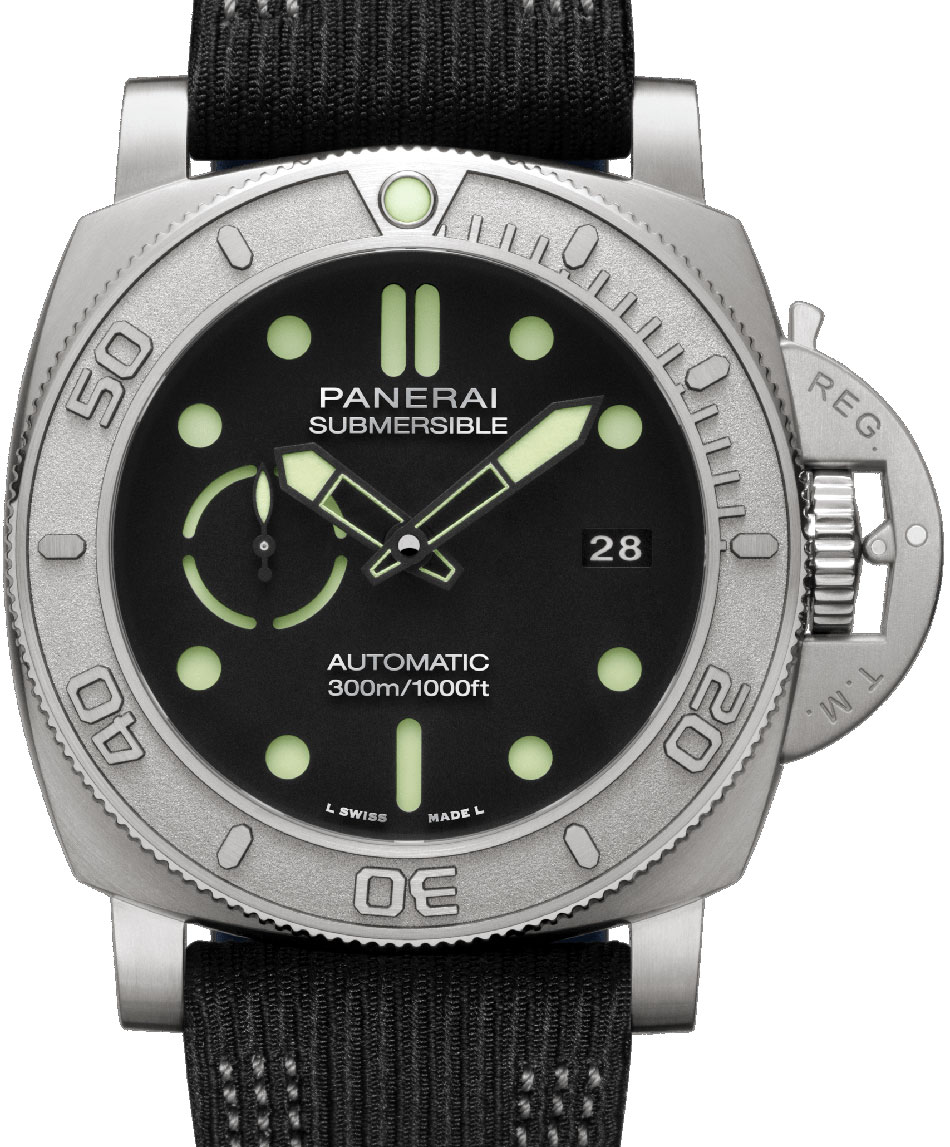 Panerai Submersible Mike Horn