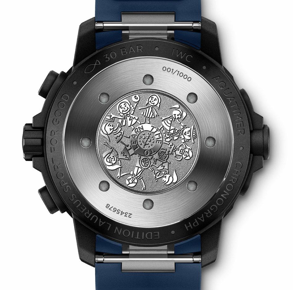 IWC Aquatimer chrono flyback Laureus