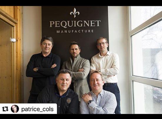 Patrice Cols, ambassadeur Péquignet