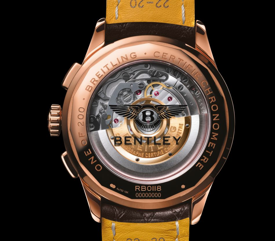 Breitling Bentley Centenary Limited Edition