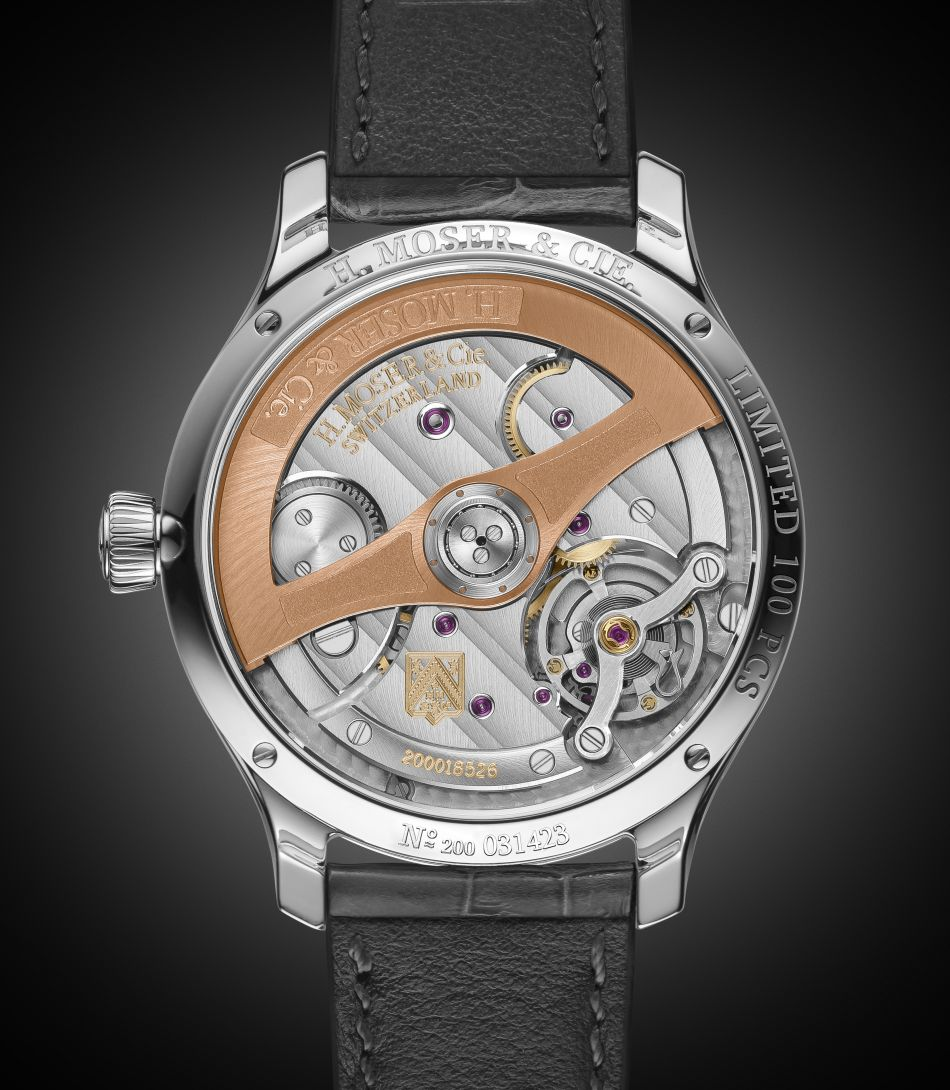 Moser Endeavour Centre Seconds Diamonds Purity