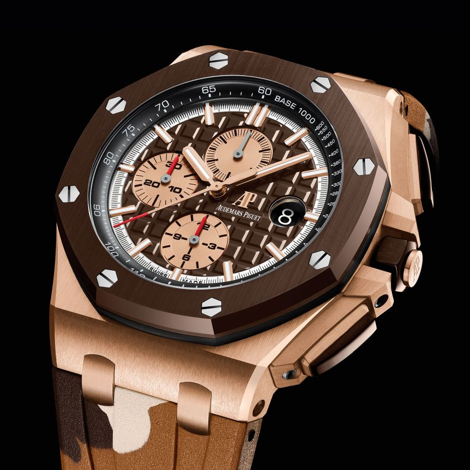 Audemars Piguet Chronographe Offshore camo or rose