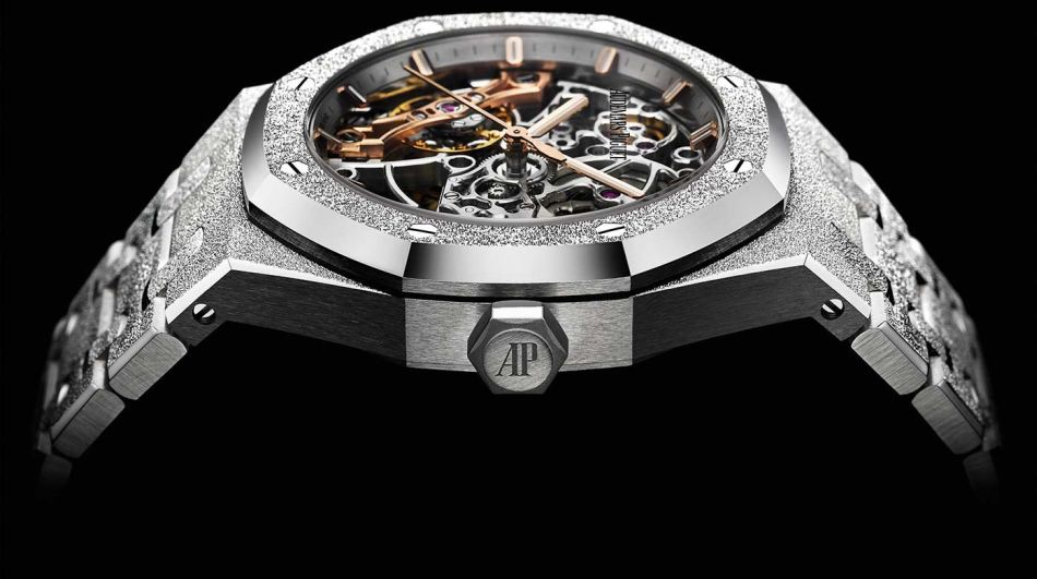 Audemars Piguet Royal Oak Squelette Frosted Gold double balancier