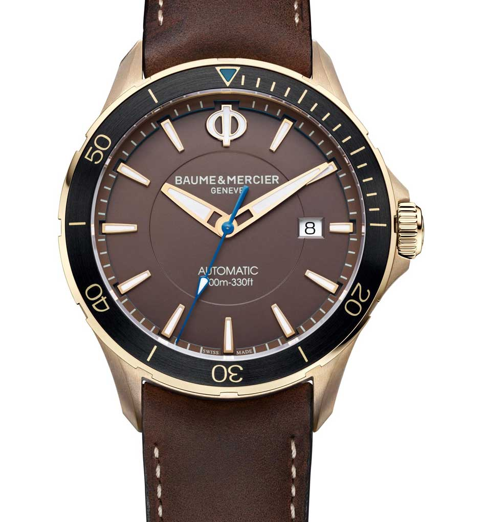 Baume et Mercier Clifton Club Bronze