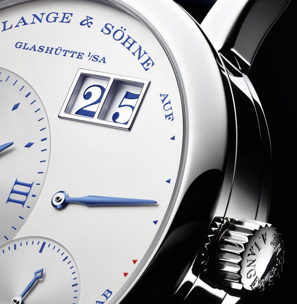 """Lange & Söhne Petite Lange 1 """"25th Anniversary"""" : modèle mixte"""