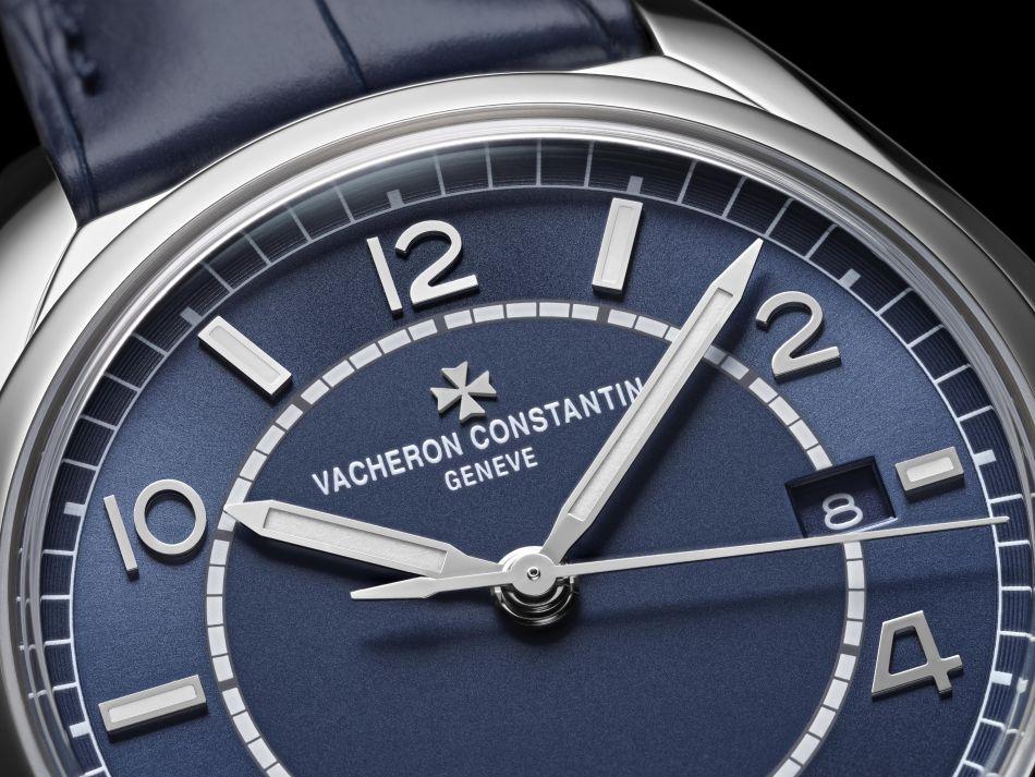 Vacheron Constantin FifttySix Automatique bleue
