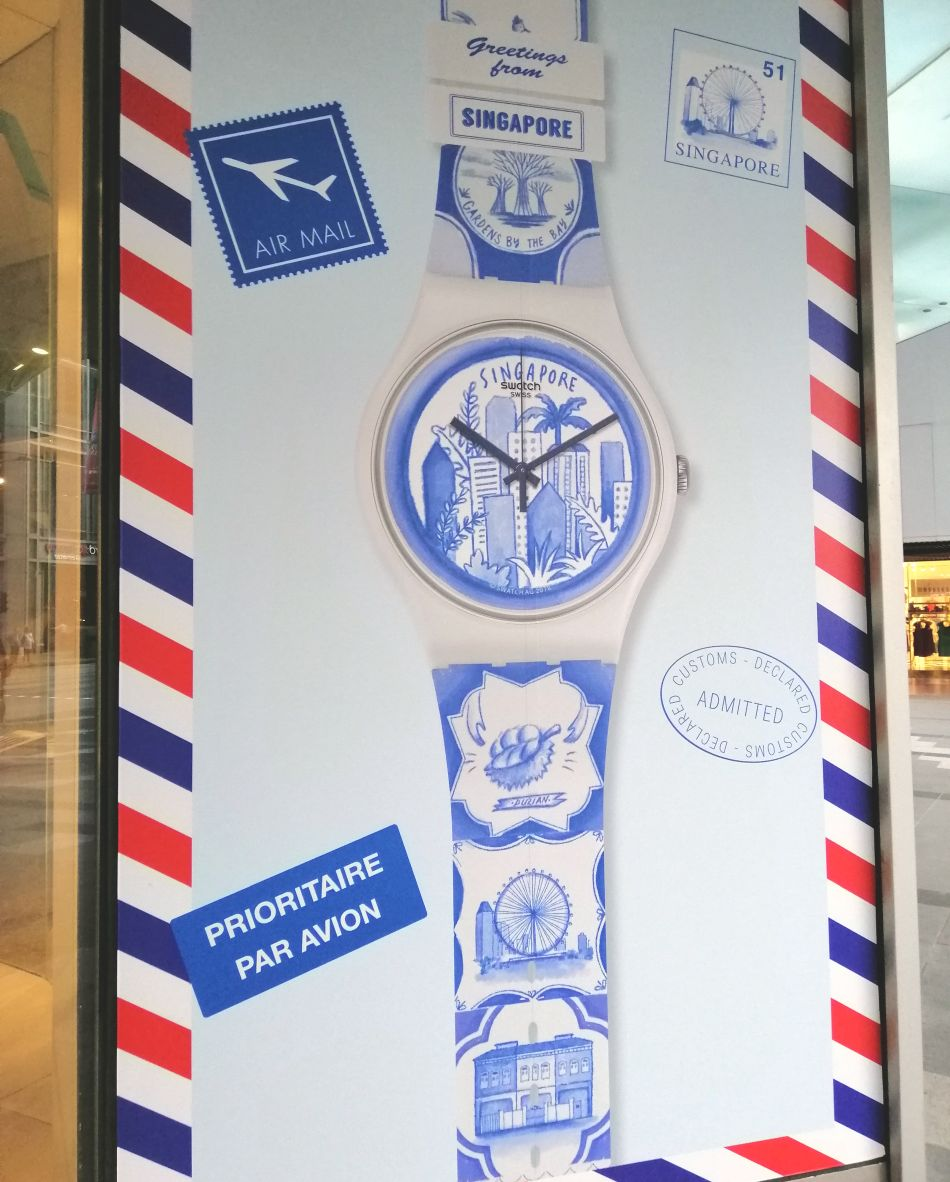 Swatch New Gent Singapore
