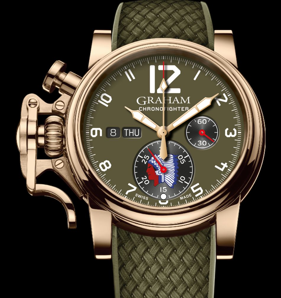 Graham Chronofighter Vintage Overlord