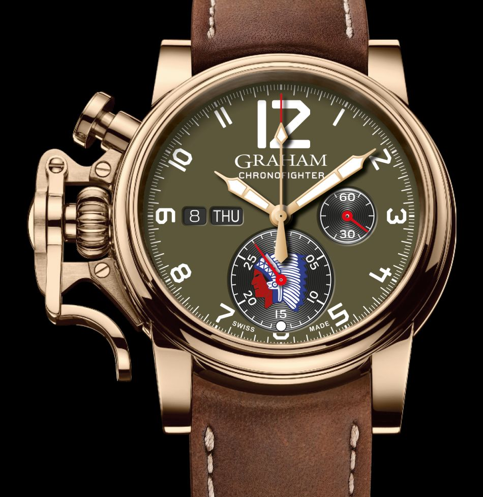 Graham Chronofighter Vintage Overlord : montre alliée