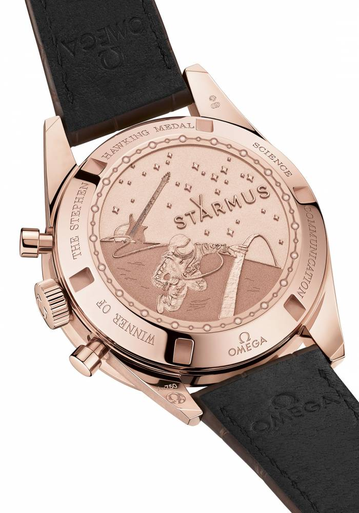 Speedmaster Moonwatch Starmus rose gold