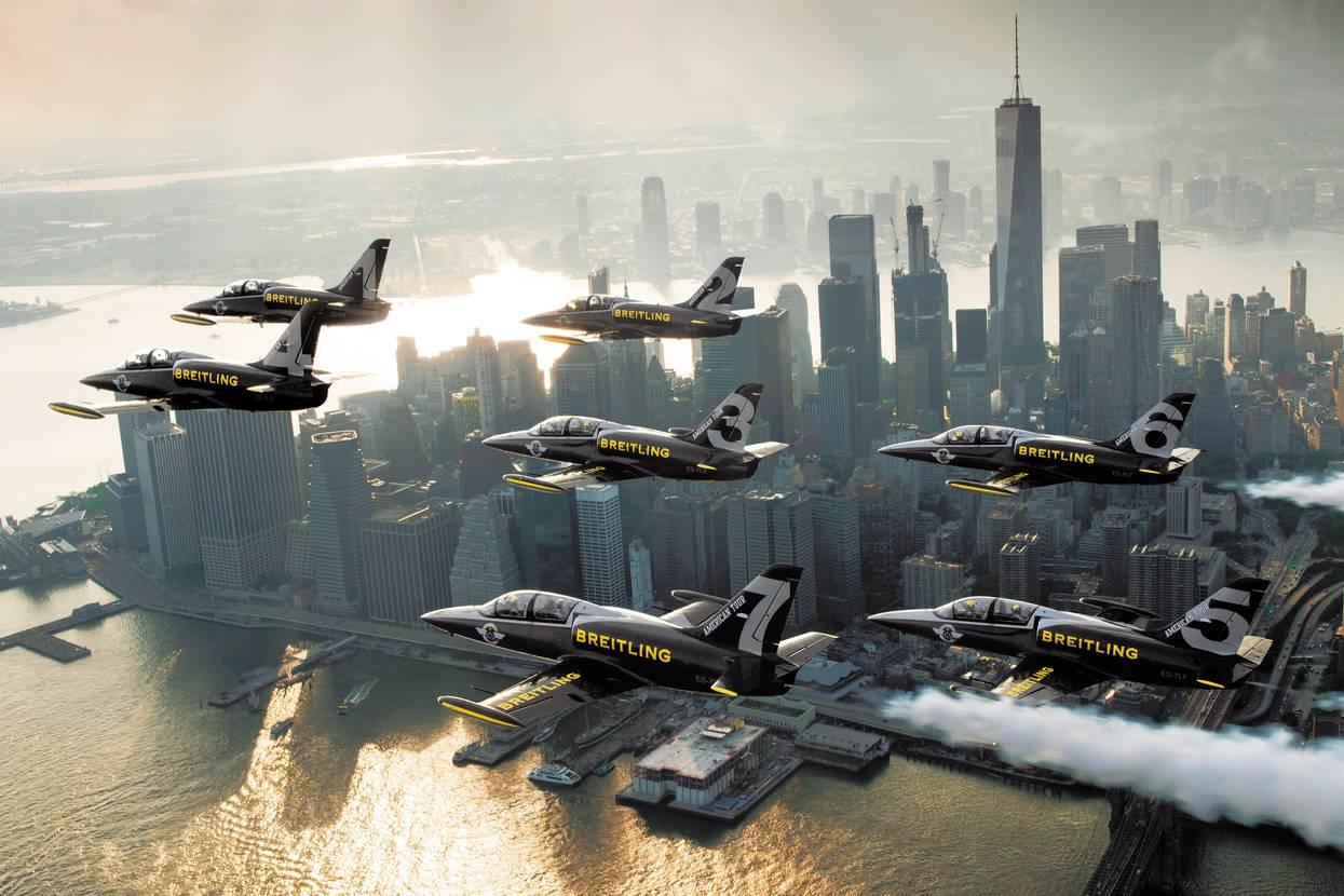 Breitling et la patrouille de jets : c'est fini ?