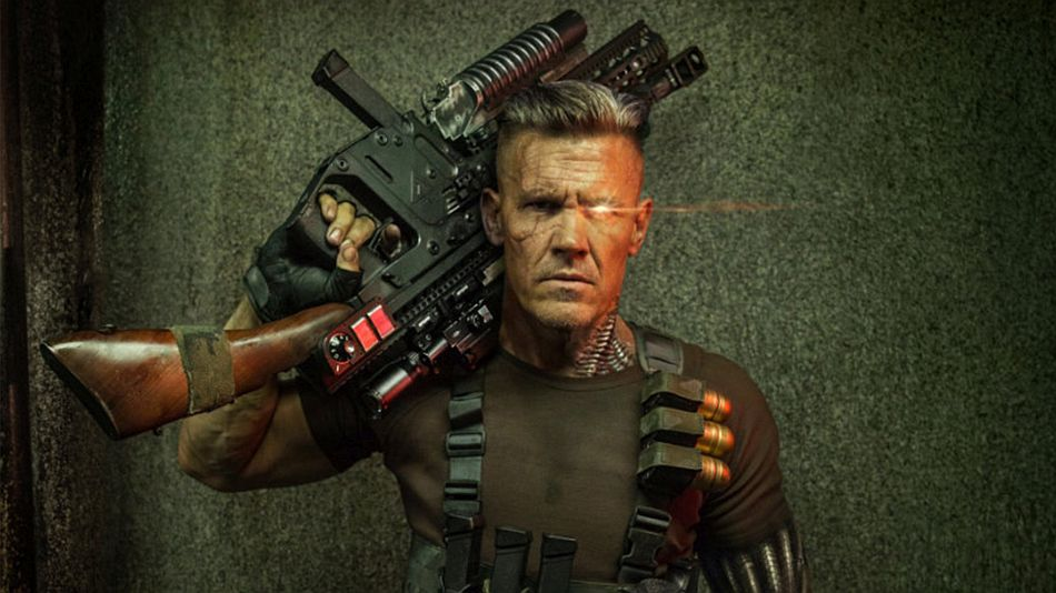 Josh Brolin as Cable in Deadpool 2, DR