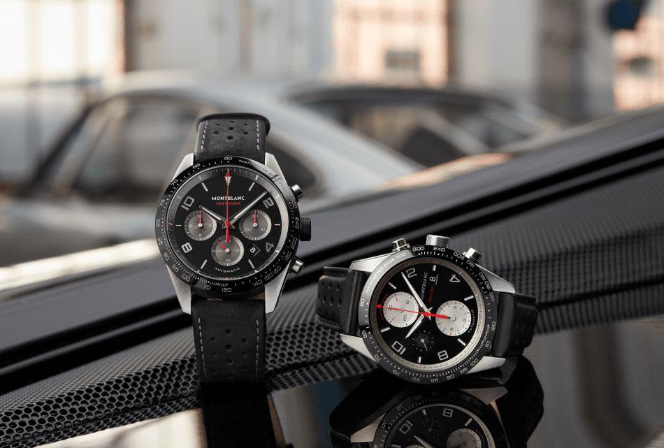 Montblanc TimeWalker Manufacture Chronograph Goodwood à gauche