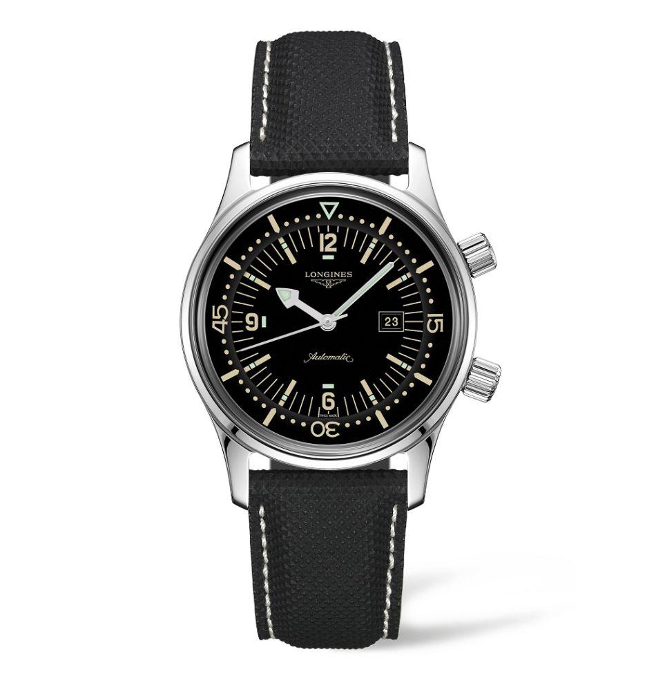 The Longines Legend Diver 36mm avec cadran noir