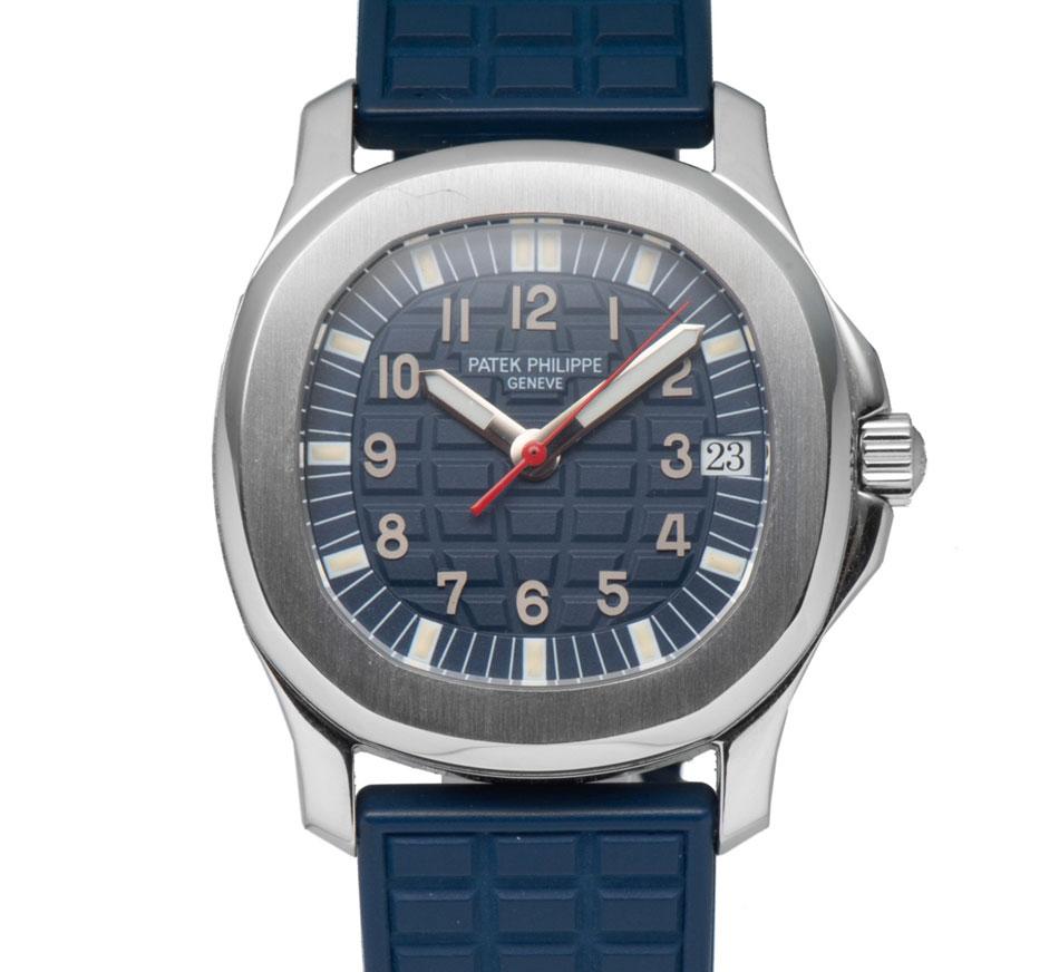Patek Philippe Aquanaut blue dial 5060A