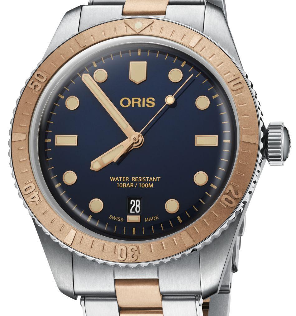 Oris Diver Sixty-Five : bico-bronzo