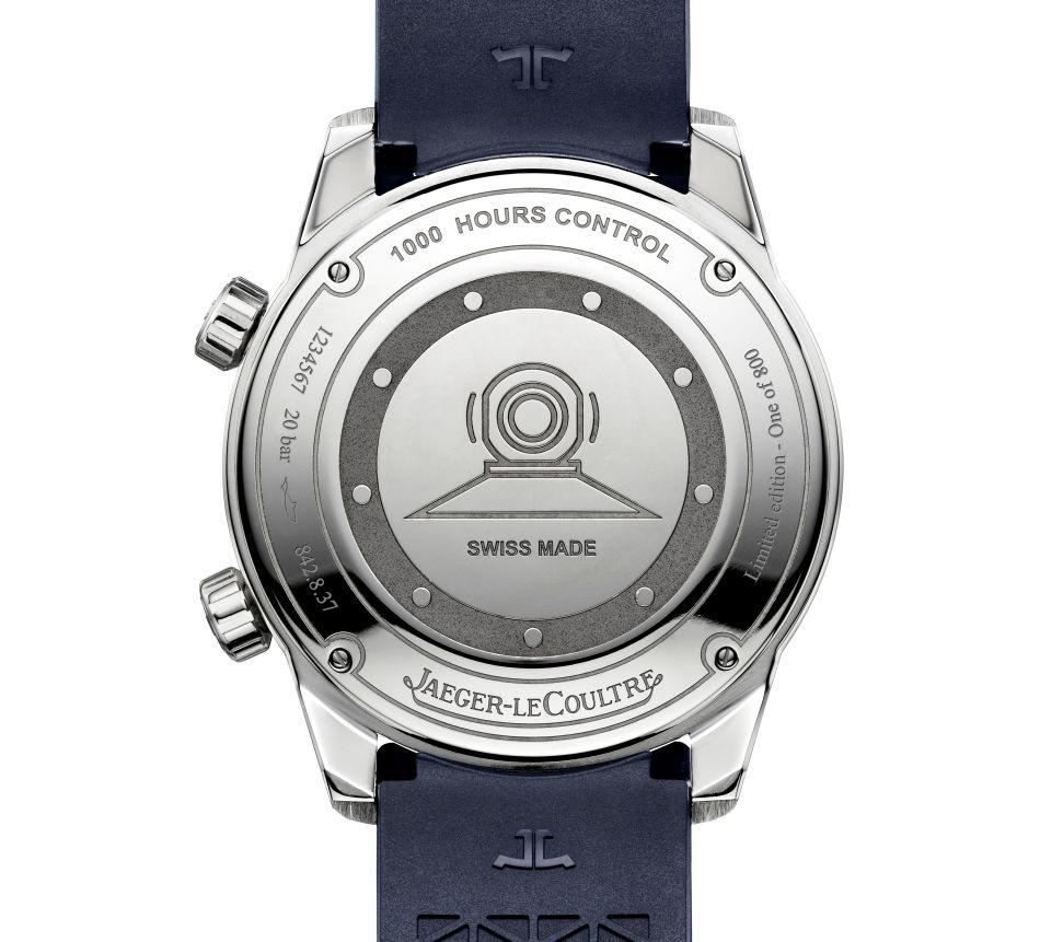 Jaeger-LeCoultre Polaris Date : édition limitée cadran bleu fumé (800 ex)