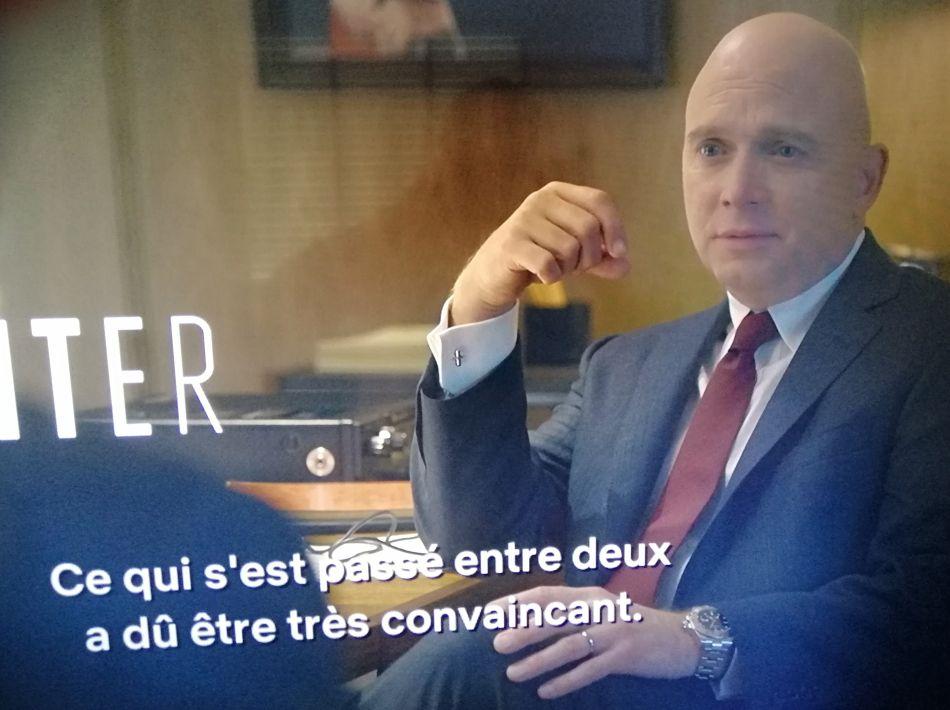 Mindhunter saison 2 Michael Cerveris Rolex Explorer 2 réf 216570 copyright Netflix