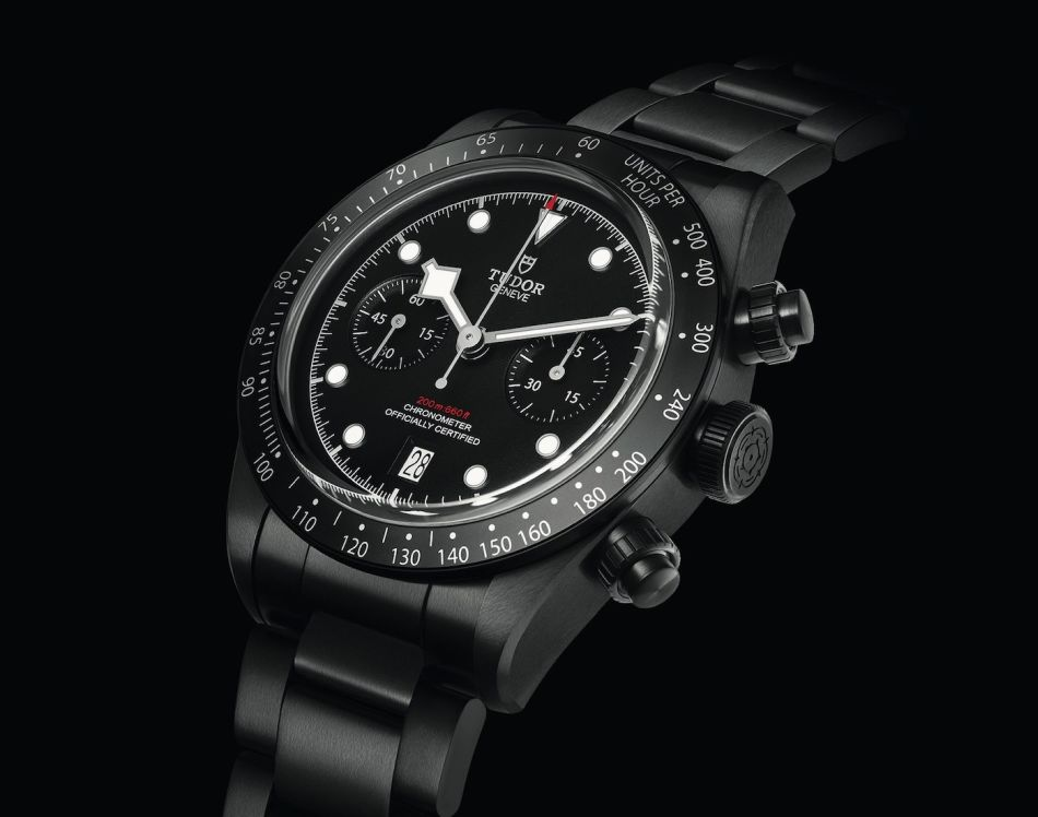 Tudor Black Bay Chrono Dark Edition All Blacks