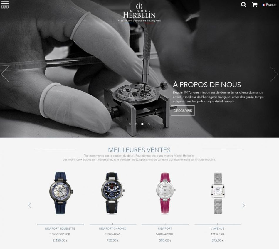Flagship digital Michel Herbelin