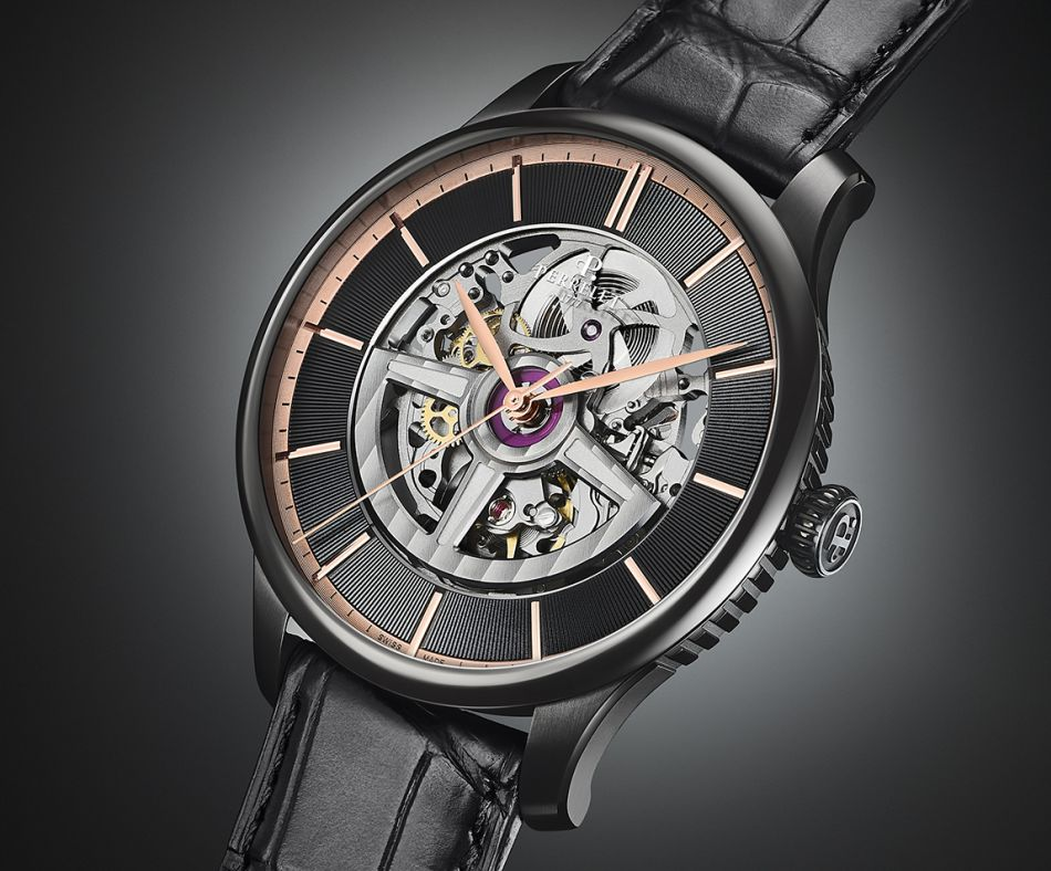 """Perrelet First Class Double Rotor """"Black Edition"""""""