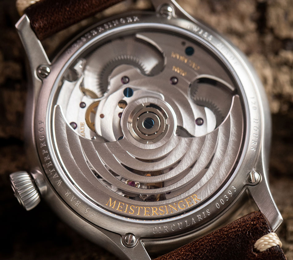 MeisterSinger Circularis automatique Old radium