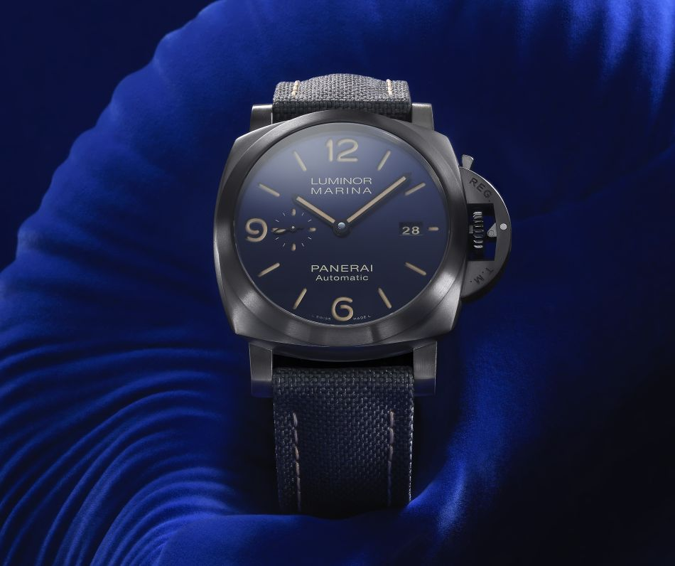 Luminor Marina Panerai Bucherer Blue