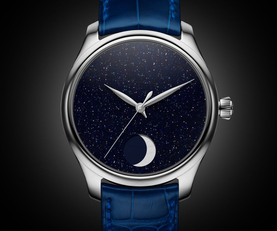 Moser Endeavour Perpetual Moon Concept Aventurine