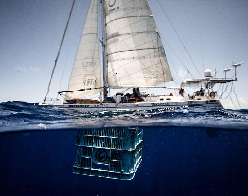 Quand l'Aquascaphe de Baltic sert à nettoyer les océans !