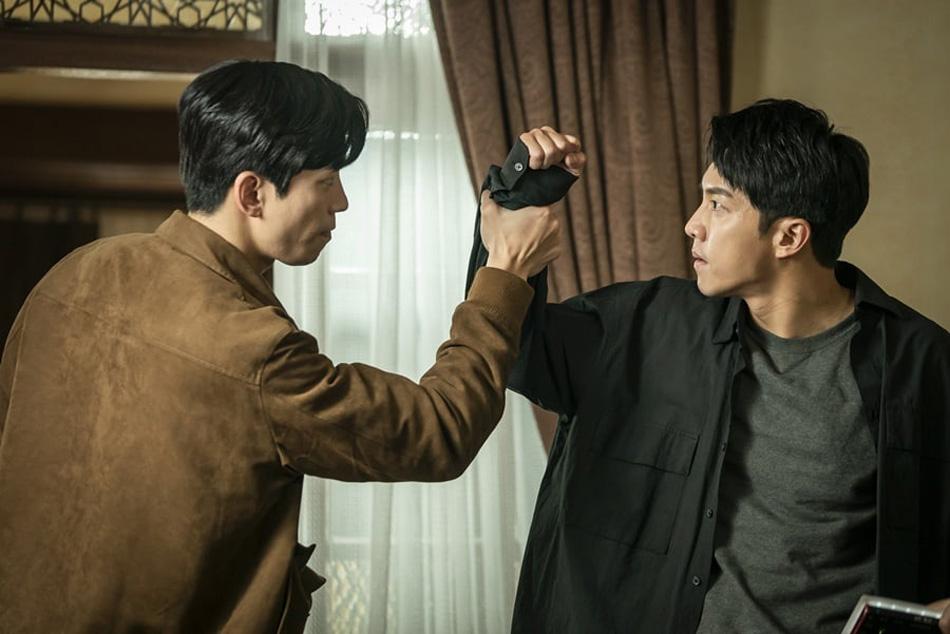 Shin Sung Rok à gauche, DR