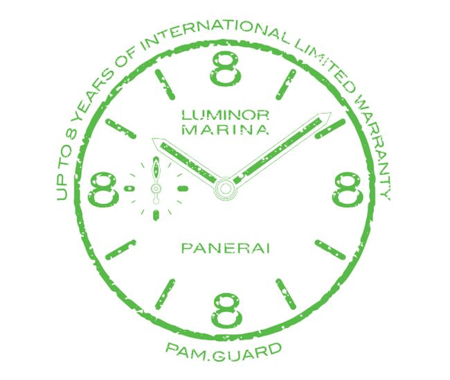 Pam.guard : les Panerai seront désormais garanties 8 ans