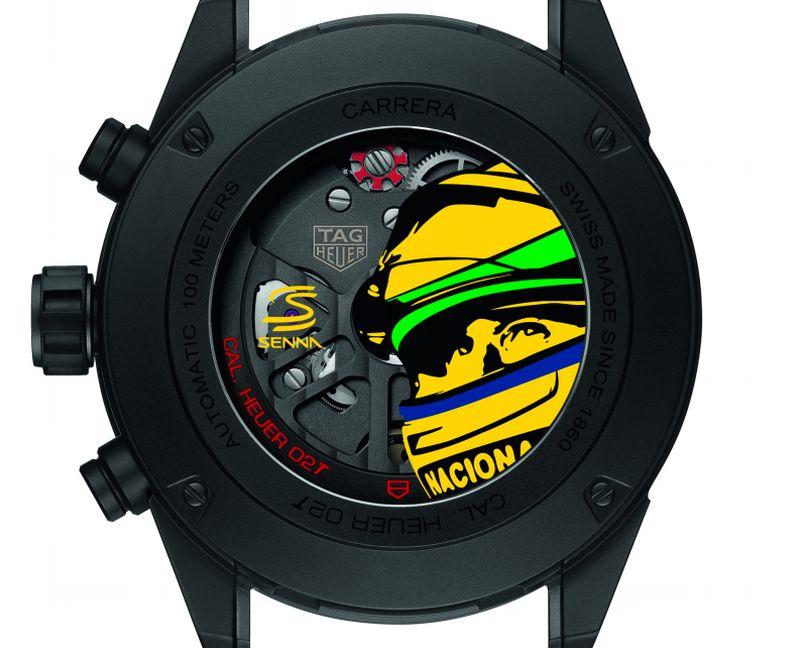 TAG Heuer Carrera Heuer 02 T Edition Spéciale Ayrton Senna