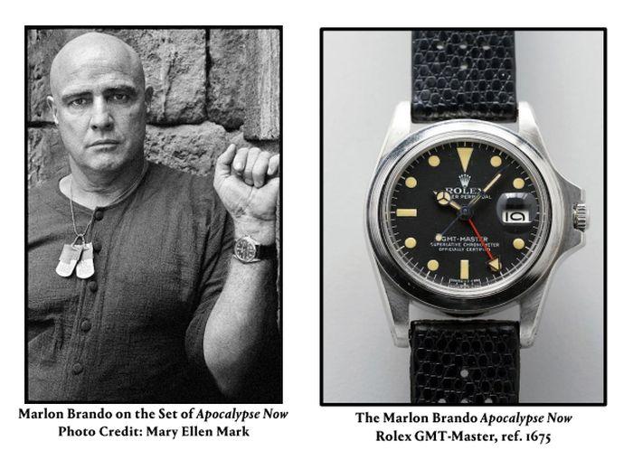Rolex GMT Master 1675 de Marlon Brando