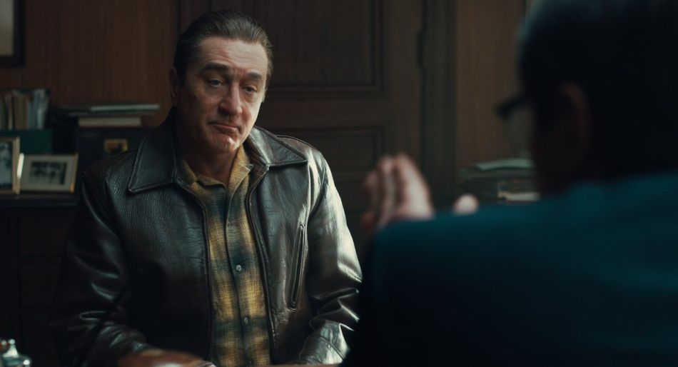The Irishman Robert de Niro Copyright Netflix
