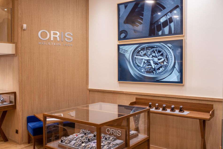 Oris ouvre une boutique exclusive à Paris : le point avec Vincent Coquet