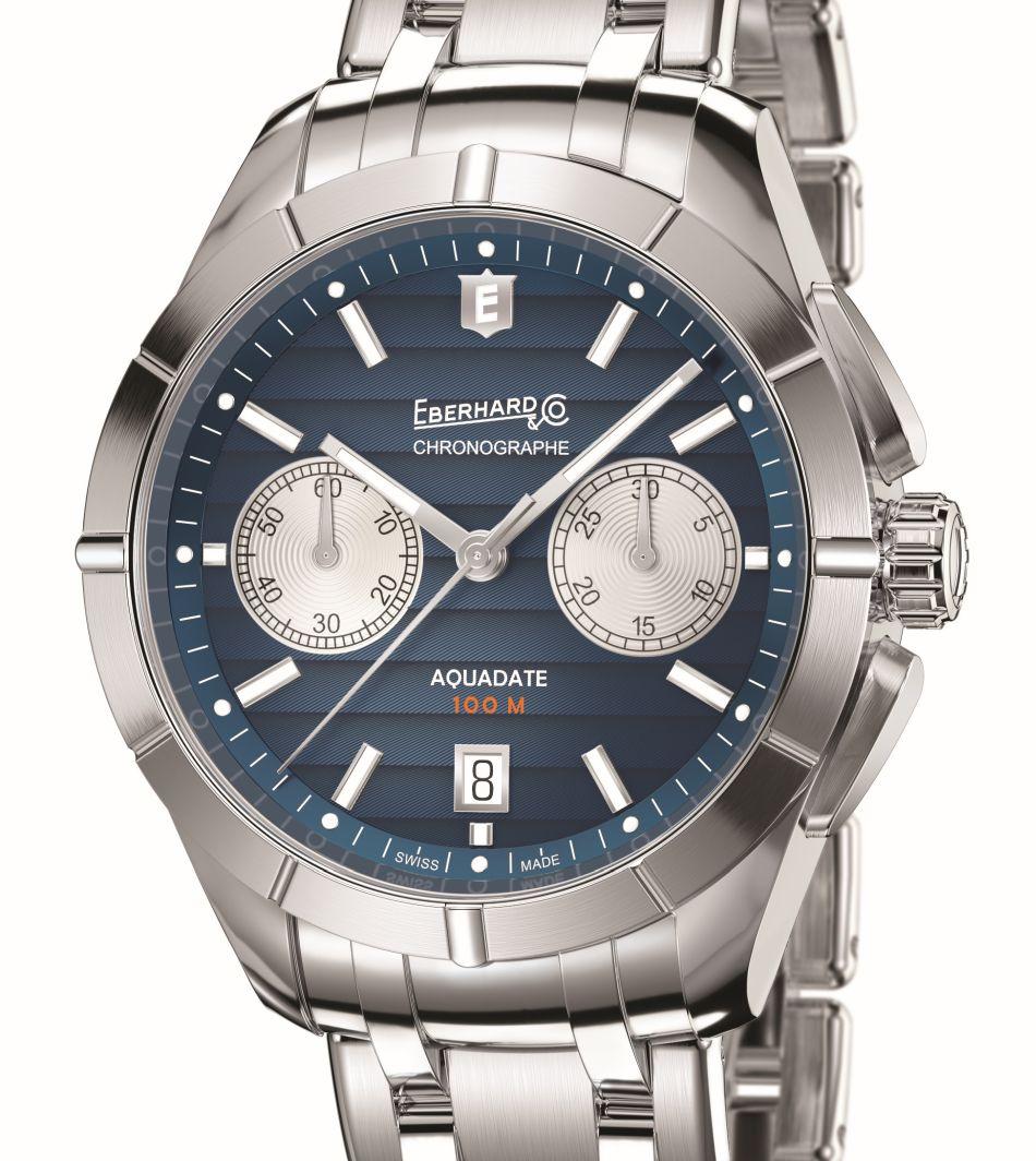 Eberhard chrono Aquadate