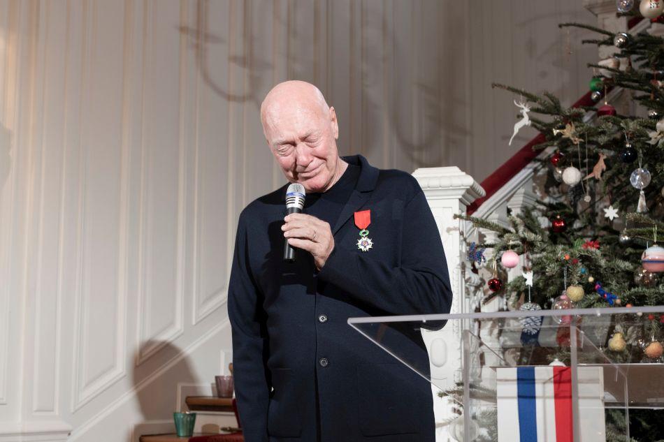 Jean-Claude Biver Légion d'honneur  © Fred Merz