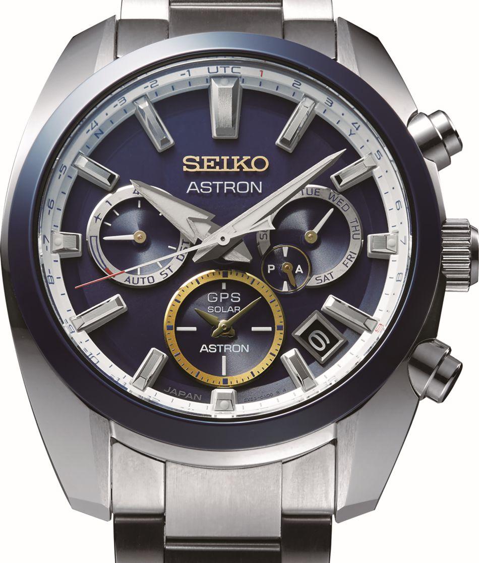 Seiko : Astron GPS Solaire Novak Djokovic : 1.500 exemplaires dans le monde