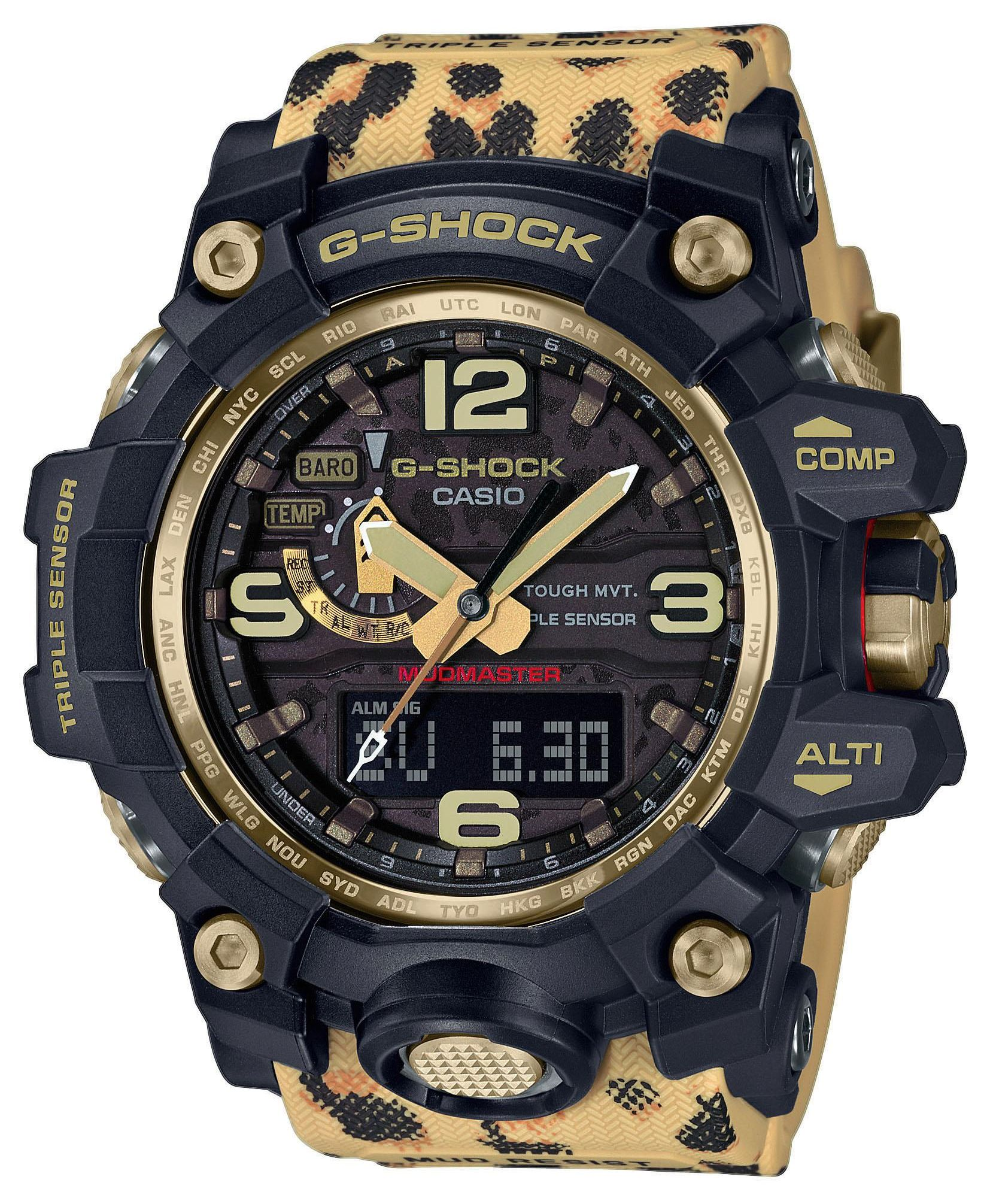 G-Shock Mudmaster Wildlife Promising