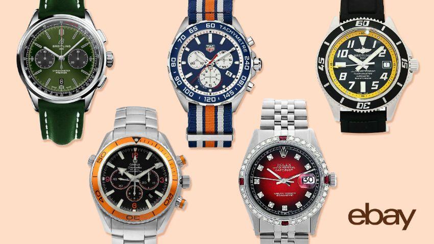 eBay : son classement des montres de luxe en 2020