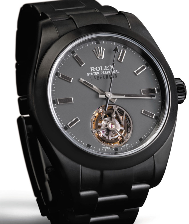 Milgauss Tourbillon Label Noir