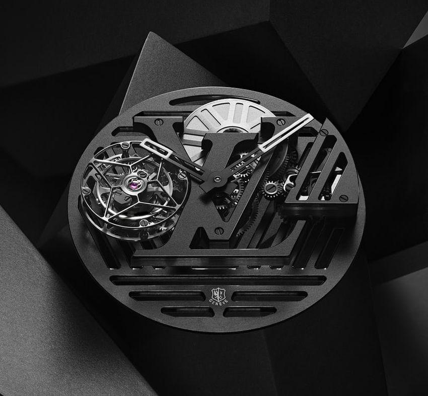 Louis Vuitton Tambour Curve Tourbillon Volant Poinçon de Genève
