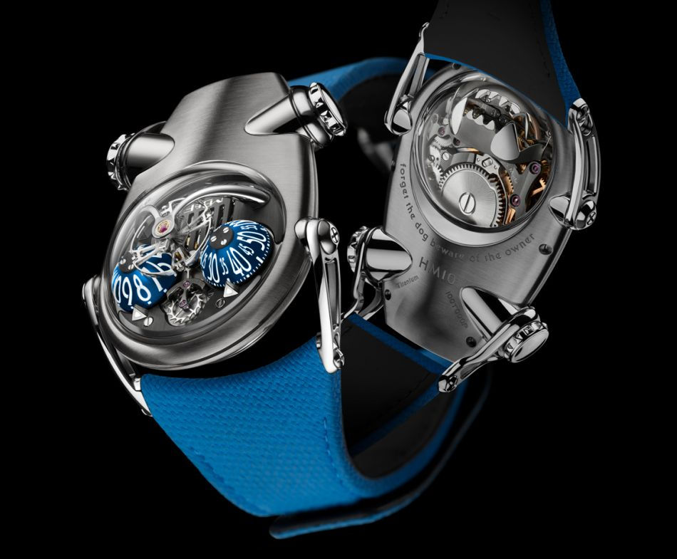 "MB&F Horological Machine N°10 ""Bulldog"" : doggie style"